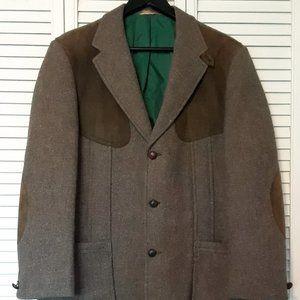VTG Eddie Bauer 70s Harris Tweed Jacket - size 42S